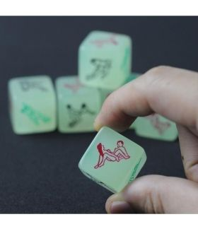 Luminous Dice Adult Games 6 Sides